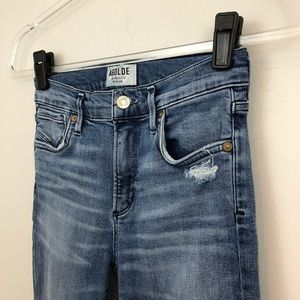 Agolde Jeans - AGoldE Sophie High Rise Distressed Crop Skinny